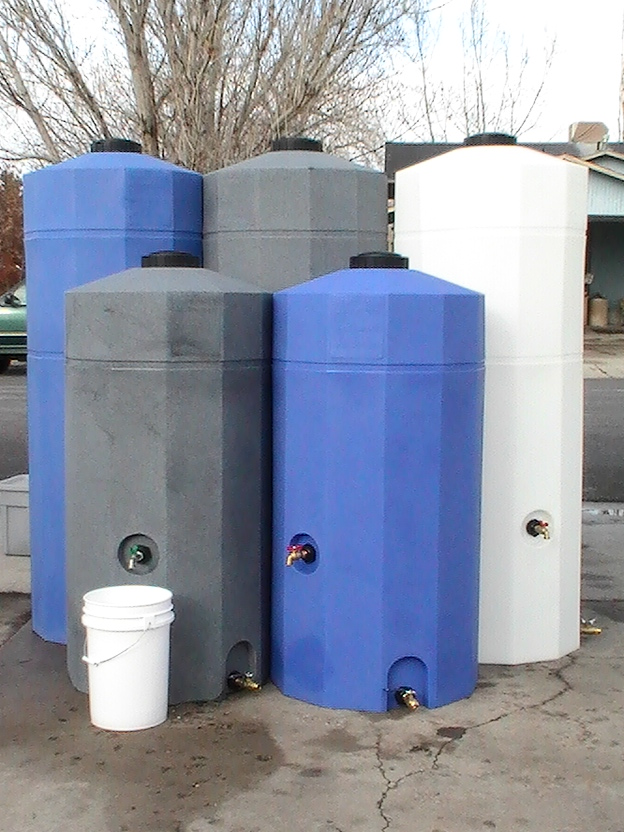 Water Storage Tanks 185, 250, and 500 gallons